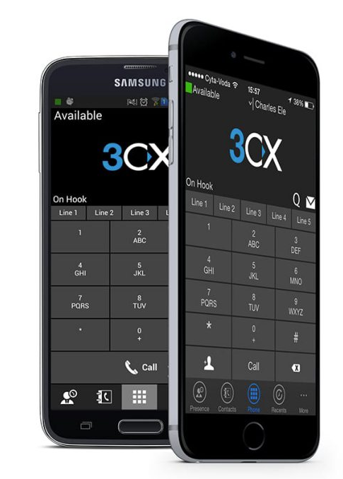 Cloud 3cx handsets