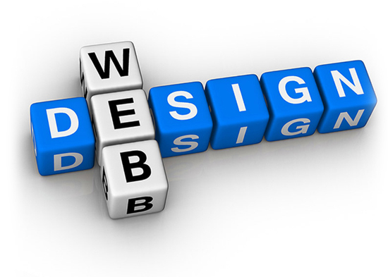 Website design building blocks